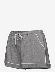 DKNY Homewear - DKNY NEW SIGNATURE S/S TOP & BOXER PJ - pyjama''s - grey heather - 4