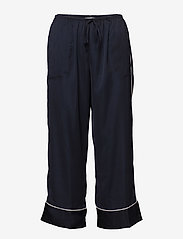 DKNY Homewear - DKNY WALK THE LINE TOP & CROP PANT - pyjamas - navy - 2