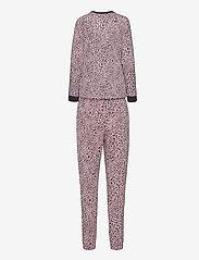 DKNY Homewear - DKNY NAME DROP TOP & JOGGER SET - pyjama''s - cosmos animal - 2