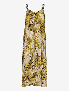 DKNY ROOFTOP READY MAXI DRESS - nightdresses - multi palm print