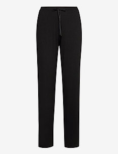 DKNY CORE ESSENTIALS PANTS - broeken - black