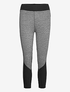 DKNY TECHNICAL JERSEY SLEEP LEGGINGS - bottoms - black space dye