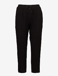DKNY CORE ESSENTIALS CAPRI - doły - black