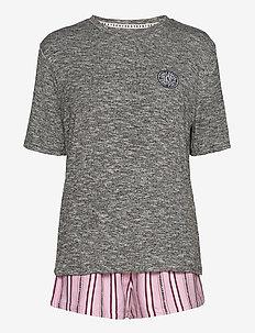 DKNY 100% DKNY TOP, BOXER & EYEMASK BOX - pyjama''s - cosmos stripe