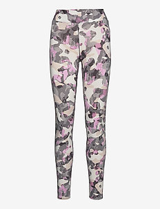 DKNY A STEP AHEAD LEGGINGS - leggings - grey camo