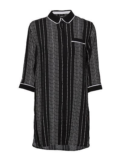 Dkny Color Theory Sleepshirt 3/4 Sl Nachthemd Bunt/gemustert DKNY HOMEWEAR