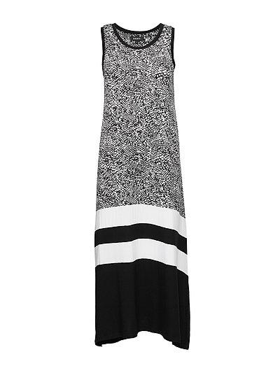 Dkny Shadow Play Maxi Chemise Kleid Knielang Bunt/gemustert DKNY HOMEWEAR