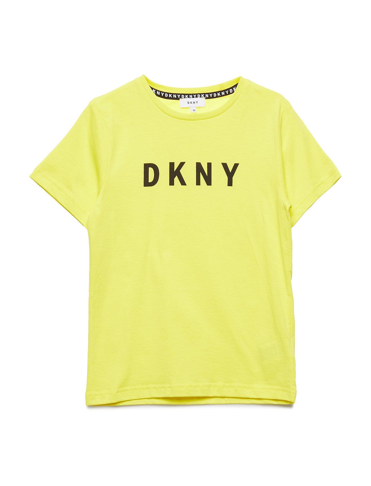 DKNY kids SHORT SLEEVES TEE-SHIRT