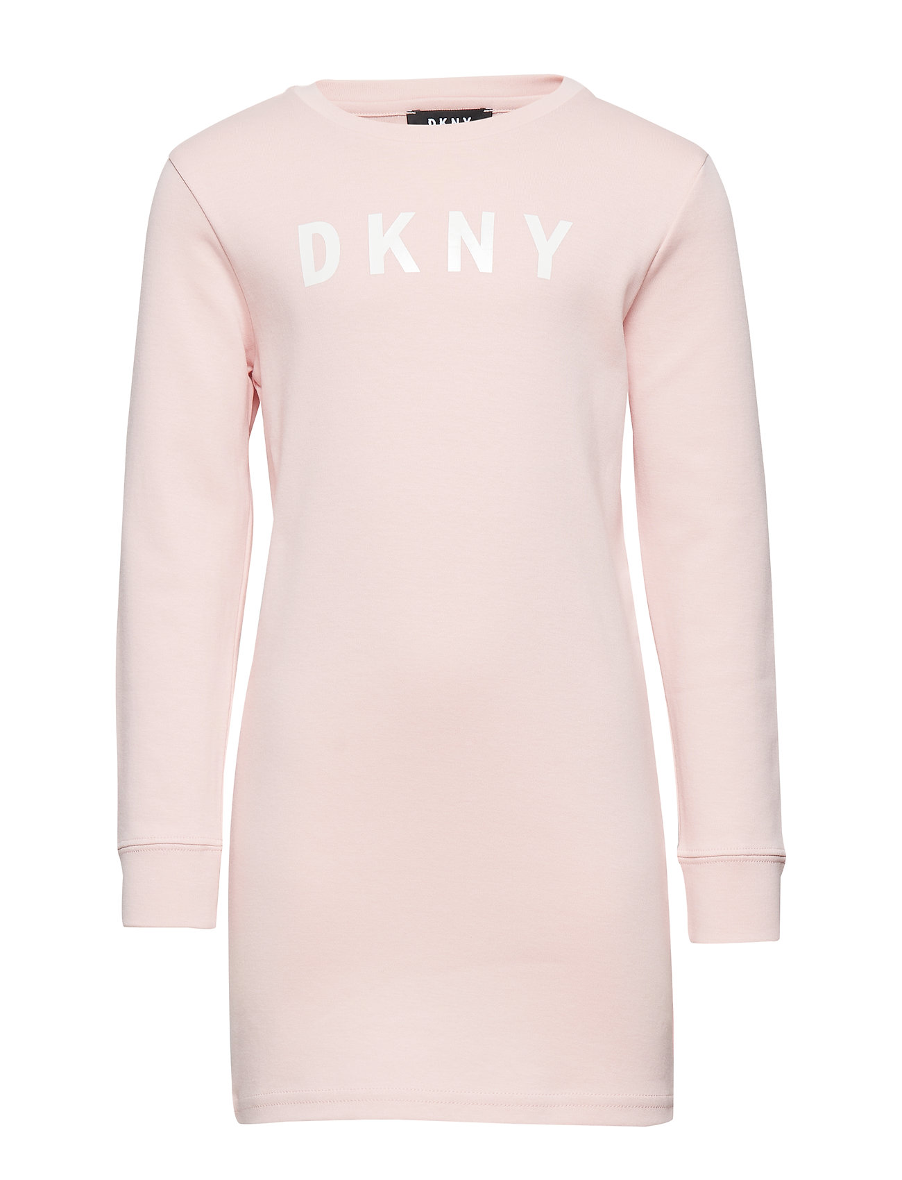 DKNY kids LONG SLEEVED DRESS - PINK