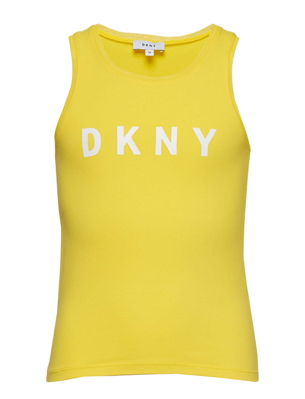 DKNY kids TANK TOP - YELLOW