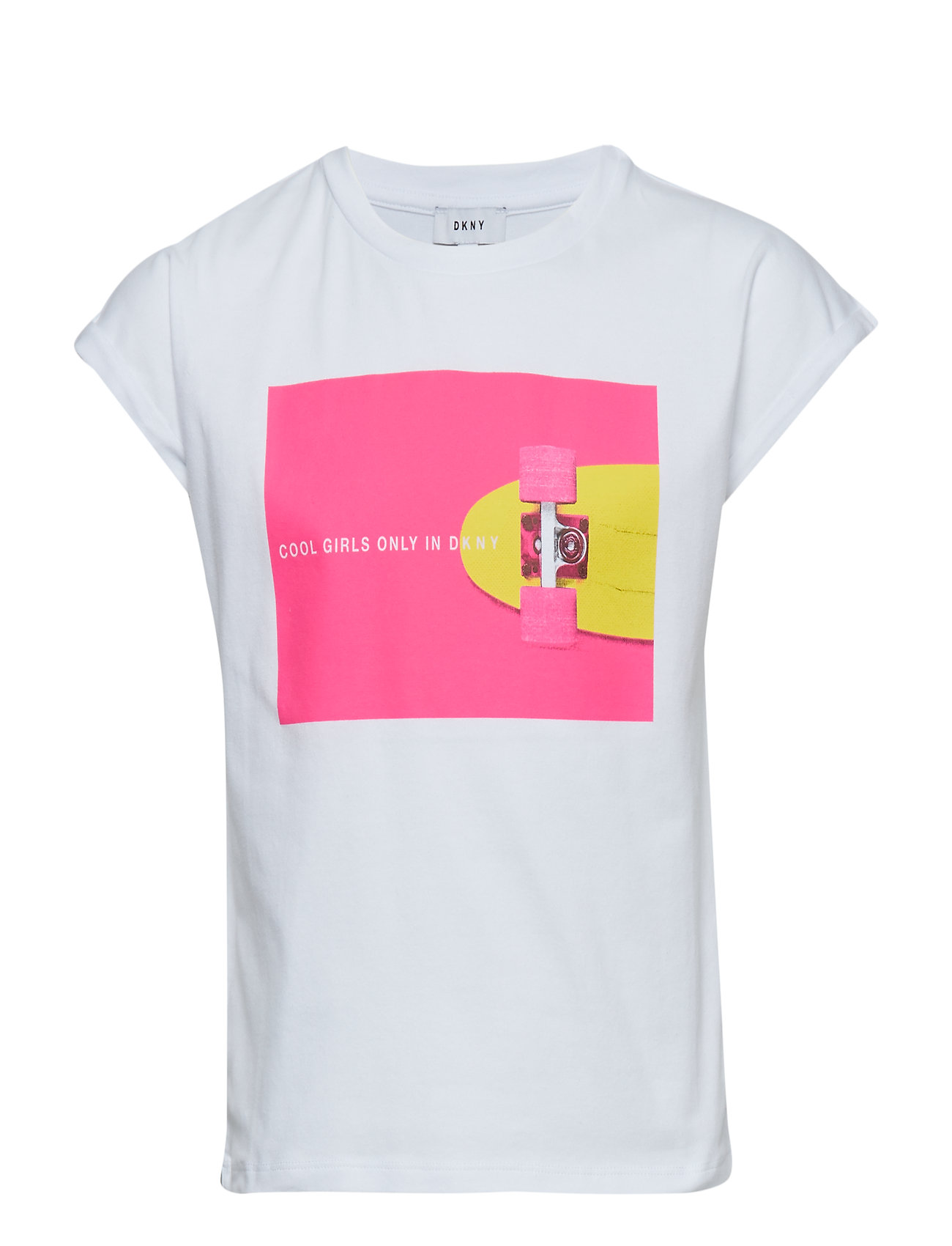 DKNY kids SHORT SLEEVES TEE-SHIRT