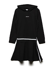 SLEEVE DRESS - BLACK