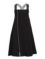 STRAPPY DRESS - BLACK