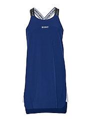 STRAPPY DRESS - BLUE