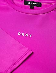 DKNY kids - SLEEVE DRESS - kjoler - fuschia - 2