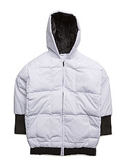 HOODED PARKA - WHITE