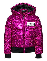 PUFFER JACKET - FUSCHIA