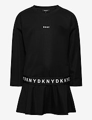 DKNY kids - SLEEVE DRESS - robes - black - 0