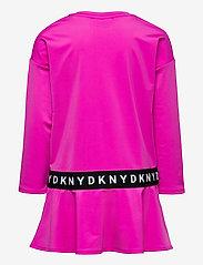 DKNY kids - SLEEVE DRESS - kjoler - fuschia - 1