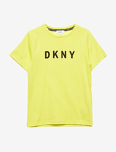 SHORT SLEEVES TEE-SHIRT - YELLOW