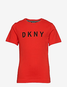 SHORT SLEEVES TEE-SHIRT - BRIGHT RED