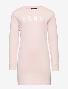 LONG SLEEVED DRESS - PINK