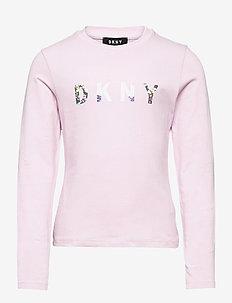 LONG SLEEVE T-SHIRT - langermede t-skjorter - washed pink