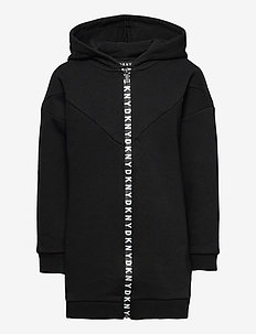 HOODED CARDIGAN - hoodies - black