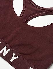 DKNY - COZY BOYFRIEND - bra without wire - vamp/whisper white - 3