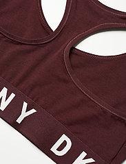 DKNY - COZY BOYFRIEND - bra without wire - vamp/whisper white - 4