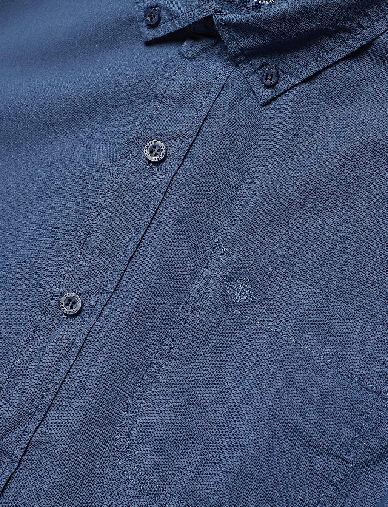 Dockers Alpha Icon Ls Ocean Blue - Skjortor Blues