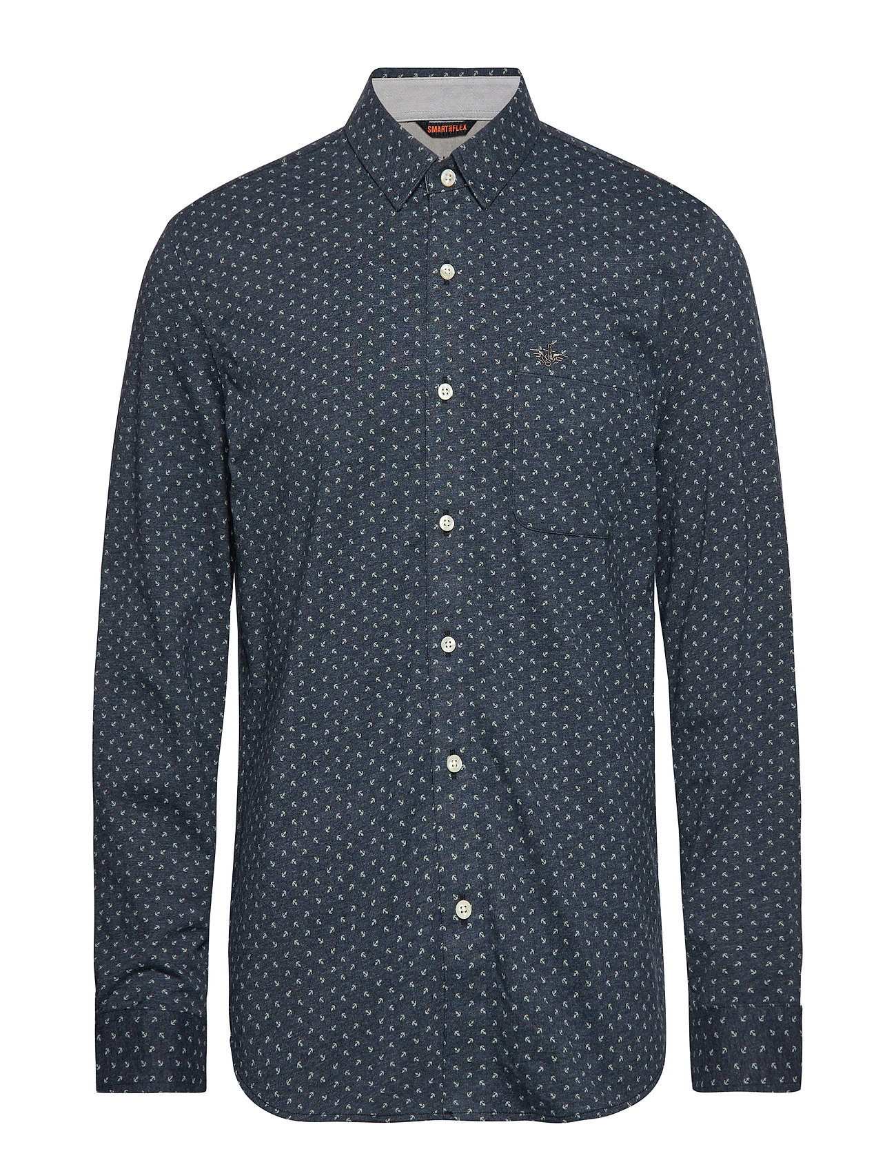 Dockers ALPHA 360 BUTTON UP BURKE 360 - BLUES
