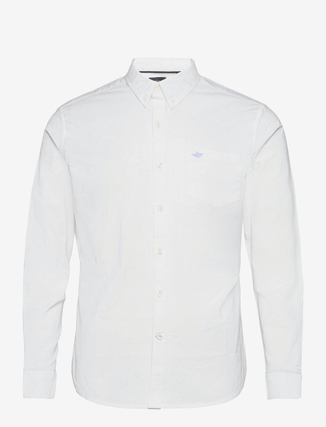 Dockers - OXFORD 2.0 PAPER WHITE - podstawowe koszulki - neutrals - 0