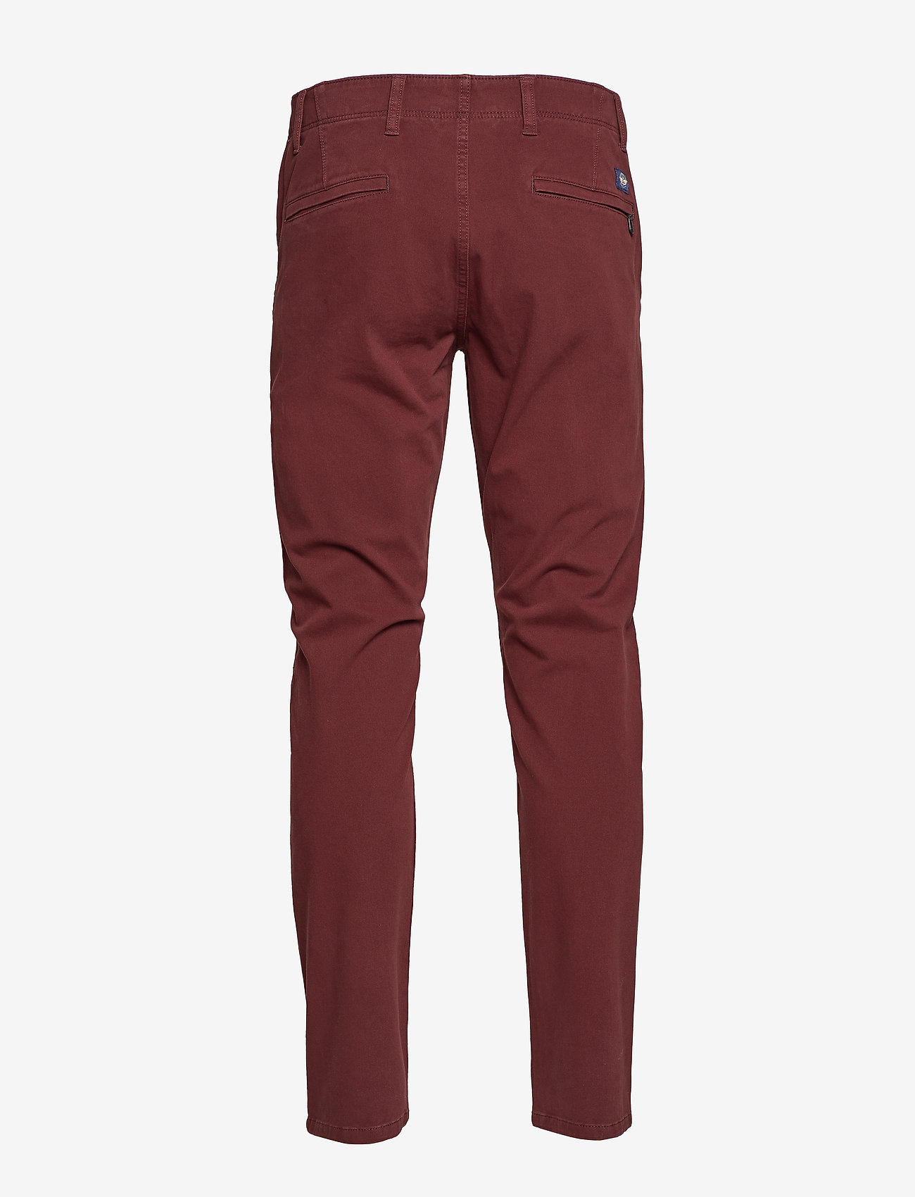 Dockers - ALPHA KHAKI 360 CHESTNUT RED - pantalons chino - reds - 1