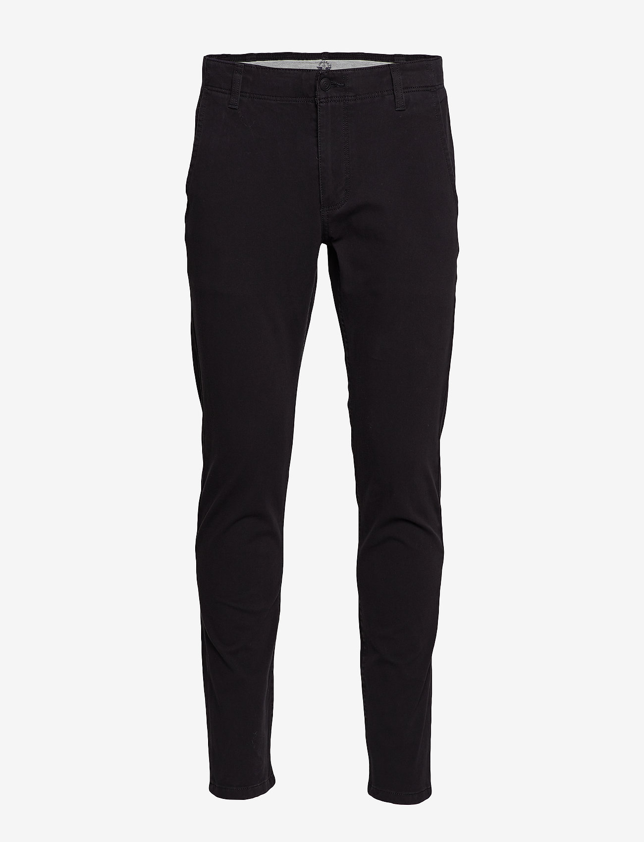 Dockers - ALPHA KHAKI 360 SKINNY BLACK - chinosy - blacks - 0