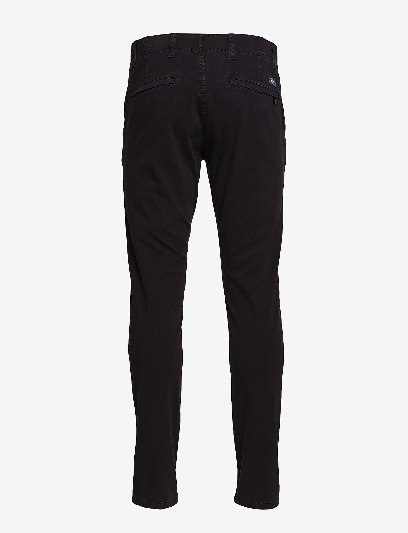 Dockers - ALPHA KHAKI 360 SKINNY BLACK - chinosy - blacks - 1
