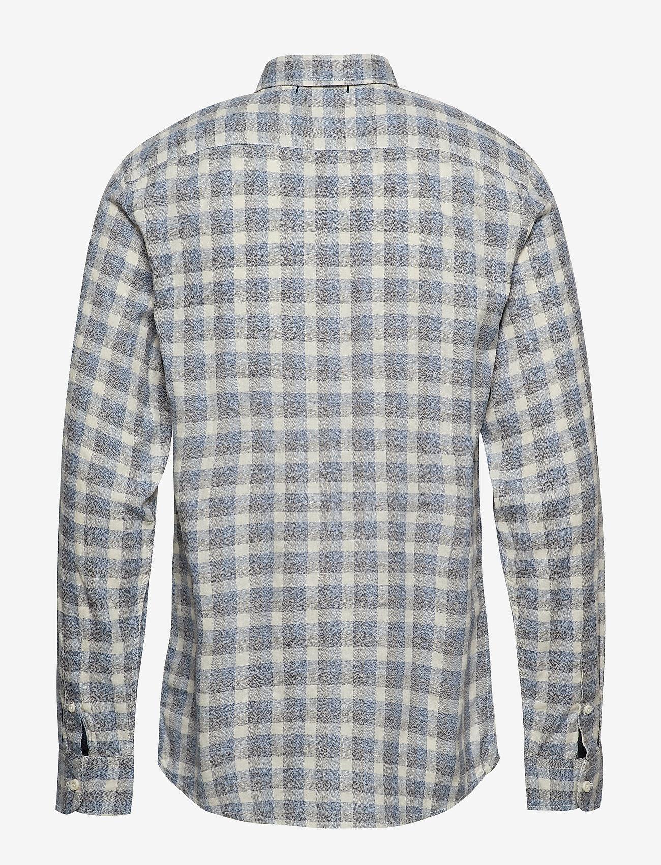 Dockers - SF ALPHA ICON SHIRT BROYLES IC - geruite overhemden - blues - 1