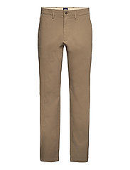 SMART 360 CHINO STRAIGHT BROWN - NEUTRALS