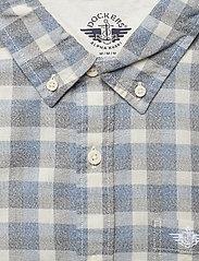 Dockers - SF ALPHA ICON SHIRT BROYLES IC - geruite overhemden - blues - 2