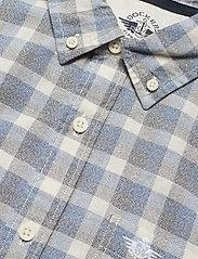 Dockers - SF ALPHA ICON SHIRT BROYLES IC - geruite overhemden - blues - 3