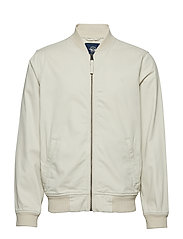 WASHED TWILL BOMBER SAHARA KHA - NEUTRALS