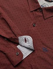 Dockers - ALPHA 360 BUTTON UP BURKE 360 - koszule casual - reds - 3