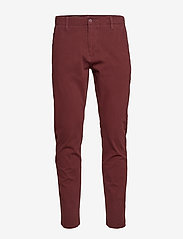 Dockers - ALPHA KHAKI 360 CHESTNUT RED - pantalons chino - reds - 0