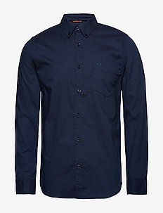 SF OXFORD SHIRT OXFORD STRETCH - BLUES