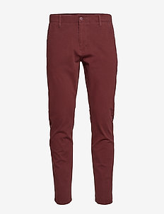 ALPHA KHAKI 360 CHESTNUT RED - pantalons chino - reds