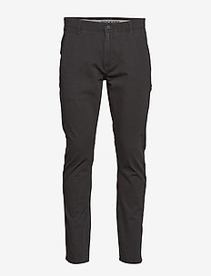 ALPHA KHAKI 360 SKINNY STEELHE - chino's - greys