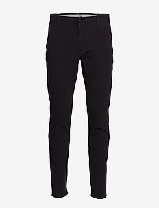 ALPHA KHAKI 360 SKINNY BLACK - pantalons chino - blacks