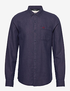 SF ALPHA ICON SHIRT SIEGLER IC - casual - blues