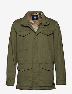 VINTAGE FIELD JACKET DEEP LICH - GREENS