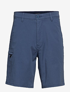 SMART 360 SHORT VINTAGE INDIGO - cargo shorts - blues